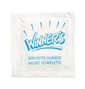Winner's Moist Towelette 1000/case
