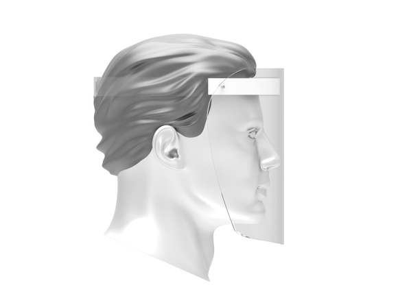 [Pre-Book Order] Disposable Personal Face Shield with White Foam