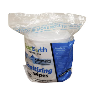 GoodEarth Sanitizing 1800 Wipes Fragrance-Free Refill Wipes for Fitness, Hospitality, Offices