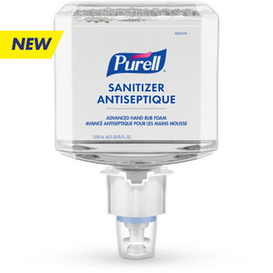 [ES4] PURELL® Advanced Hand Rub Foam 1200 mL Refill for PURELL® ES4 Push-Style Hand Sanitizer Dispensers (2/case)