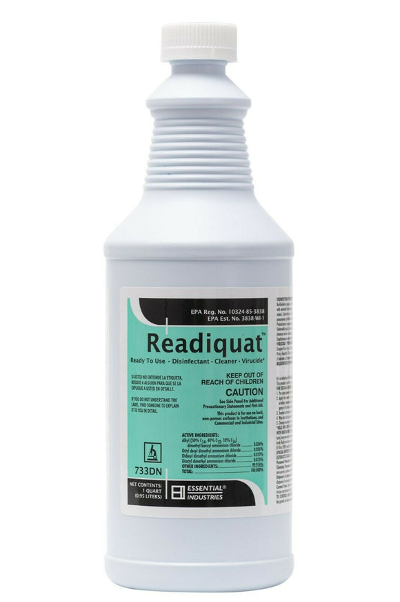 READIQUAT™ RTU Spray Disinfectant, Deodorizer, Cleaner, 1 Qt.(0.95 Litres)