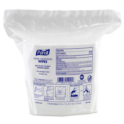 PURELL® Hand Sanitizing Wipes 1700 Count Refill for PURELL® High Capacity Wipes Dispensers