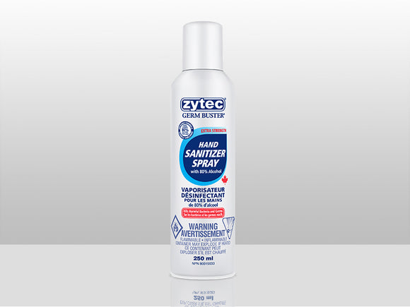 [Hand Sanitizer Spray] Zytec Germ Buster™ Extra Strength