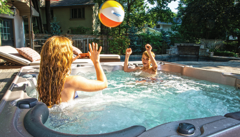 Five tips for keeping the water in your hot tub safe and healthy