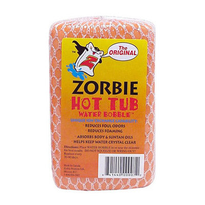 "Zorbie Water Bobble</br><font color=""grey"">(Absorbs body/suntan oils)</font>"