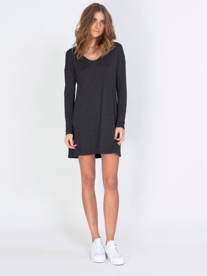 VARIANCE DRESS - HEATHER CHARCOAL - GFX175-312 - 1.jpg