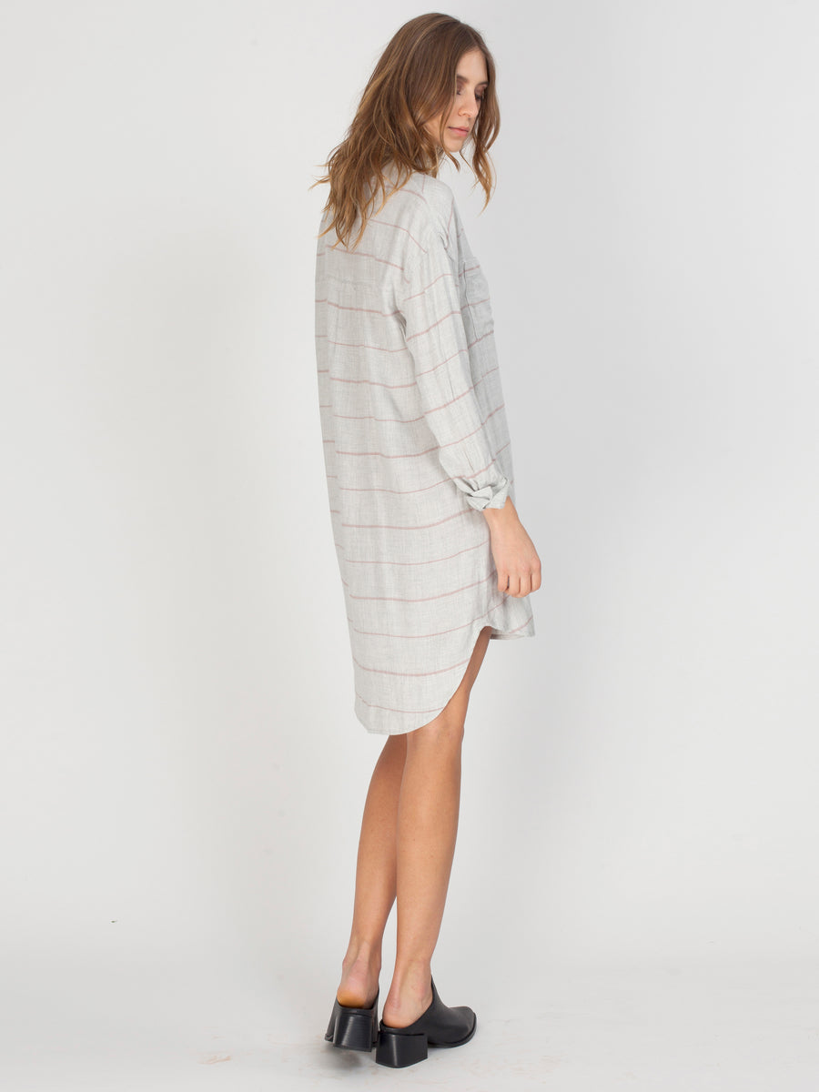 VOYAGE DRESS - HEATHER GREY STRIPE - GF175-8228 - 3.jpg