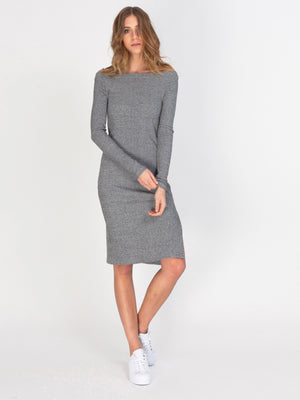 EMMALEE DRESS - SPECKLE GREY - GFX178-332 - 1.jpg