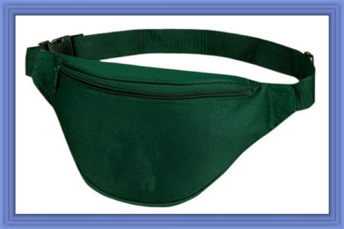 Fantasybag-Hunter-Green-2-Zipper-Fanny-Pack