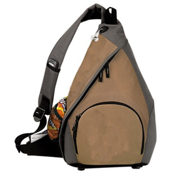 Yen's Mono-Strap Backpack, 6BP-05 Khaki