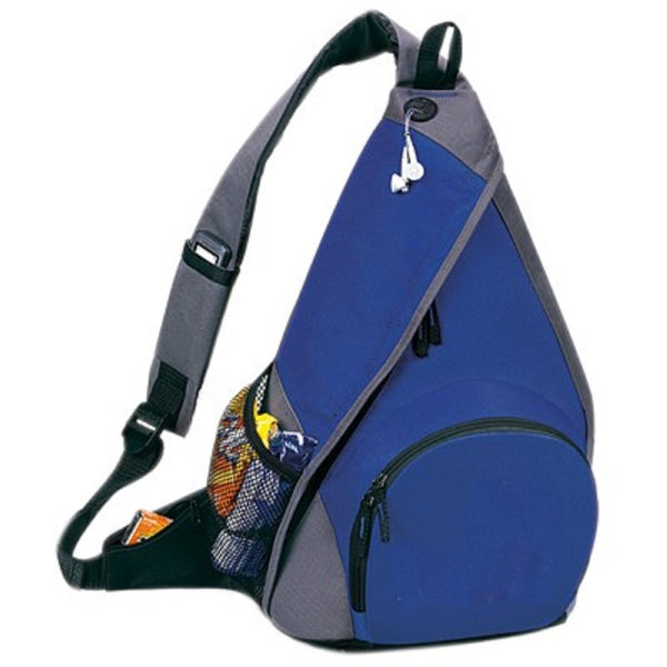 Yen's Mono-Strap Backpack, 6BP-05 Royal Blue