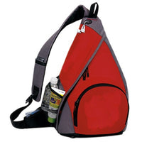 Yen's Mono-Strap Backpack, 6BP-05 Red