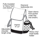 Yens Fantaysbag Insulated Lunch Bag w/ Bottle Holder, AC-6696