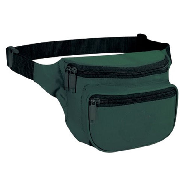 Yens Fantasybag 3-Zipper Fanny Pack  FN-03 Hunter Green