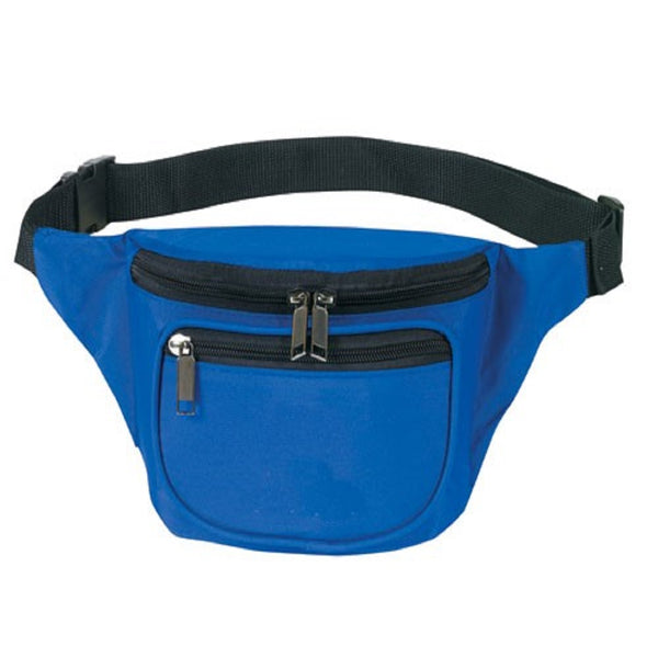 Yens Fantasybag 3-Zipper Fanny Pack  FN-03 Royal Blue
