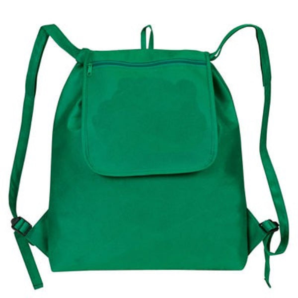 "Yens Fantasybag ""eGREEN"" Fold-Up Drawstring Cooler Backpack-Forest Green, NCP-21"