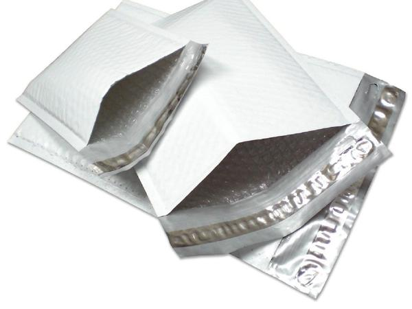 Yens® 1000 #000 Poly Bubble Padded Envelopes Mailers 4 X 8 1000PM#000