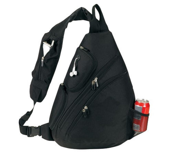 Yens Fantasybag Urban sport sling pack, SB-6826 Black