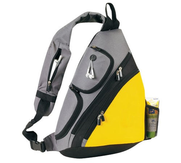 Yens Fantasybag Urban sport sling pack, SB-6826 Yellow