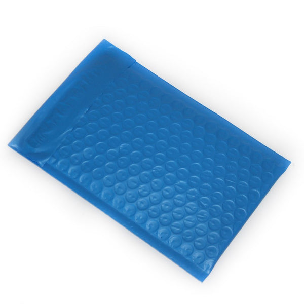 Yens® 500 #000 Blue Poly Bubble Padded Envelopes Mailers 4 X 7 500PM#000-Blue
