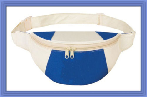 Fantasybag Royal Blue Eco-Green Fanny Pack