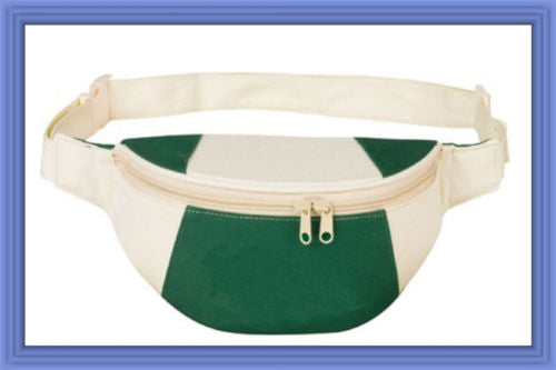 Fantasybag Hunter Green Eco-Green Fanny Pack