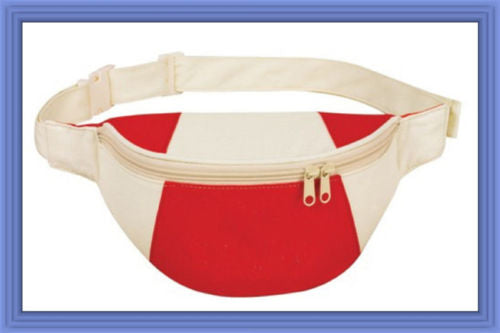 Fantasybag Red Eco-Green Fanny Pack
