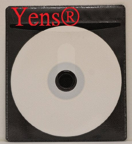 100 pcs CD Double-Sided Plastic Sleeve Black