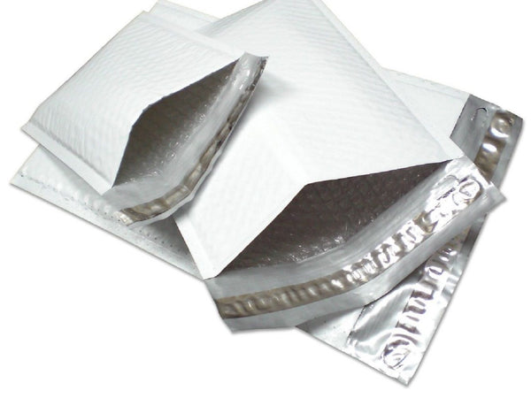 Yens® 500 #000 Poly Bubble Padded Envelopes Mailers 4 X 8 500PM#000
