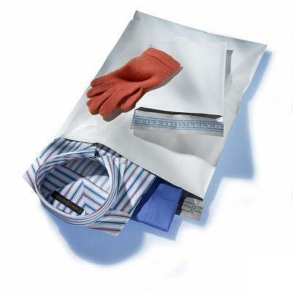 Yens® 3000 #M1 WHITE POLY MAILERS ENVELOPES Self Sealing BAGS 6 x 9 3000M1