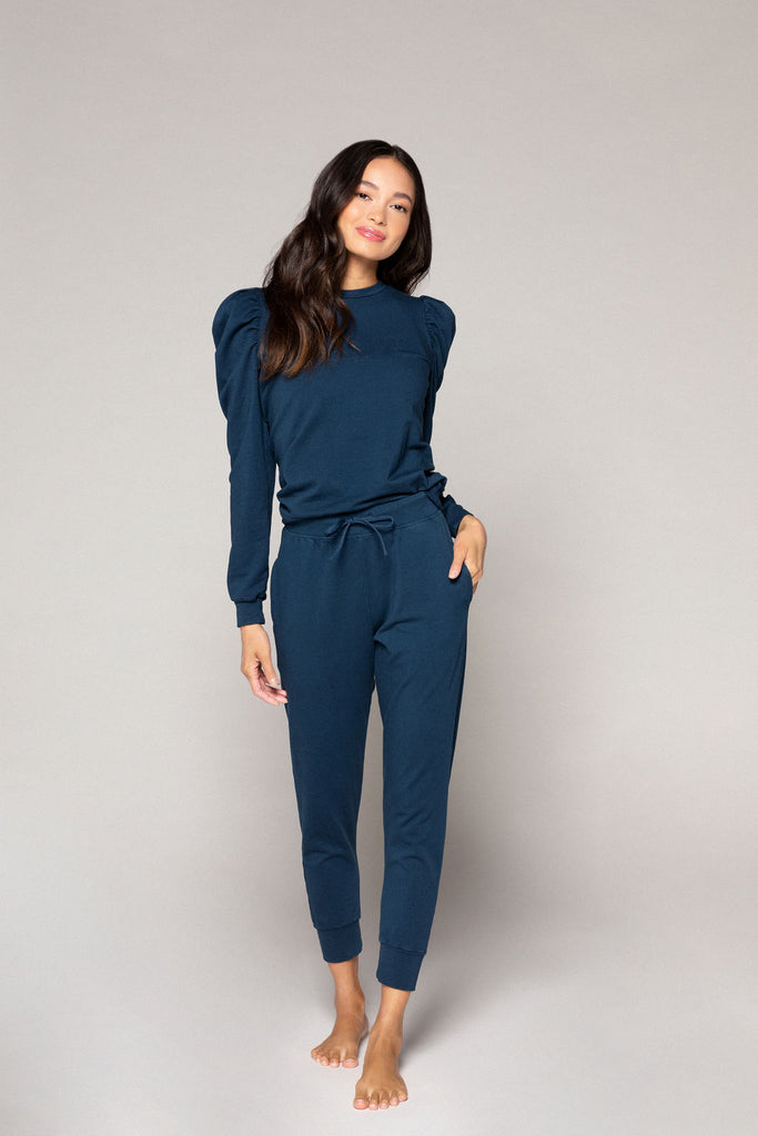 Sloan Puff Sleeve Pullover