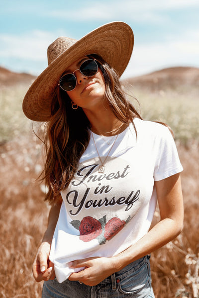 *NEW* Invest In Yourself Tee