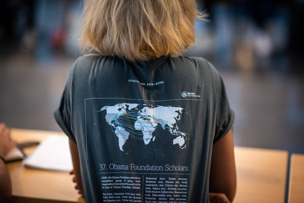 Obama Foundation Scholar T-shirt