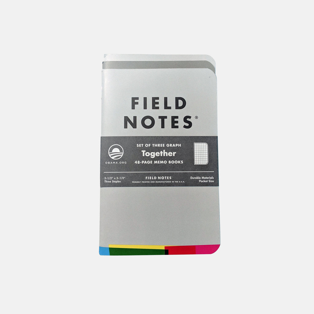 Field Notes (Pack of Three Notebooks)