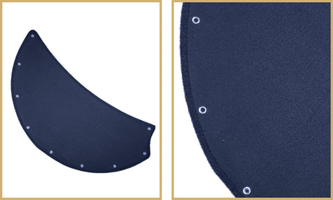 Blue Nautical Canvas Blades