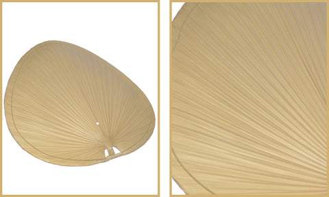 48 inch natural palm blades