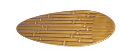 Walnut bamboo celing fan blades