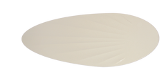 White Palm Pattern Blades