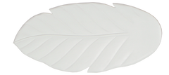 Arbor 100, 125 or 150 in Pure White Finish