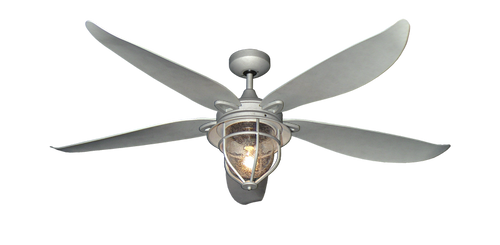 60 inch St. Augustine Ceiling Fan by TroposAir - Galvanized Look - tropical-fan-company