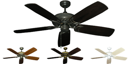 52 inch Atlantis - Arbor 425 Blades - tropical-fan-company