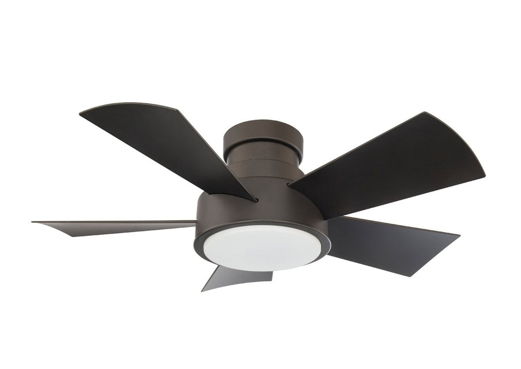 38 inch Vox Flush mount Ceiling Fan - Bronze Finish