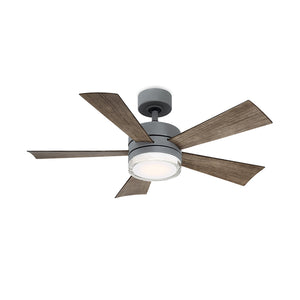 42 inch Wynd Ceiling Fan - Graphite Finish with light