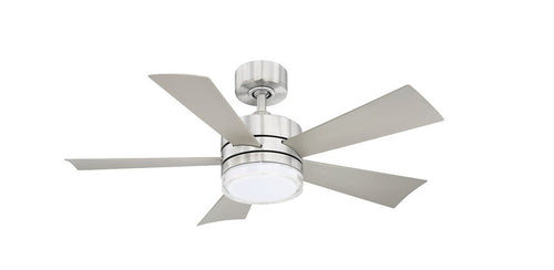42 inch Wynd Ceiling Fan - Stainless Steel Finish