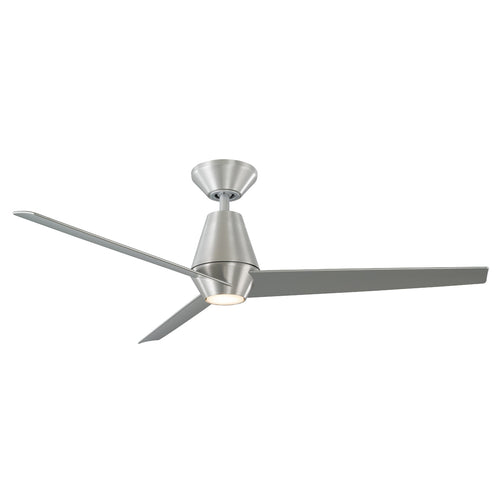 52 inch Slim Ceiling Fan - Brushed Aluminum Finish