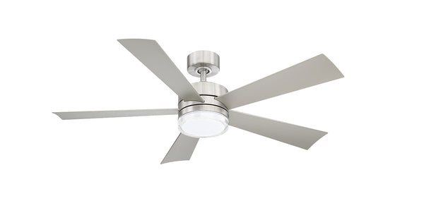 52 inch Wynd Ceiling Fan - Stainless Steel Finish