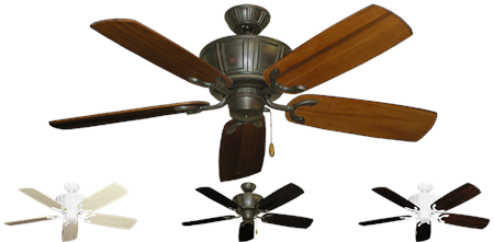 52 inch Centurion Ceiling Fan - Arbor 425 Blades - tropical-fan-company
