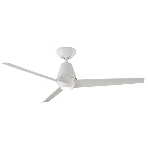 52 inch Slim Ceiling Fan - Matte White Finish