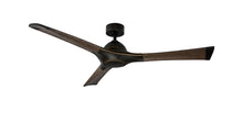 60 inch Woody Ceiling Fan - Bronze Finish and Dark Walnut Blades