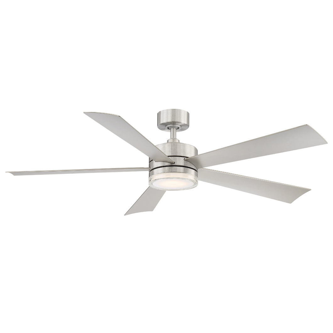 60 inch Wynd Ceiling Fan - Stainless Steel Finish